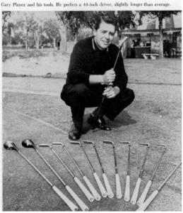 gary player and his tools
